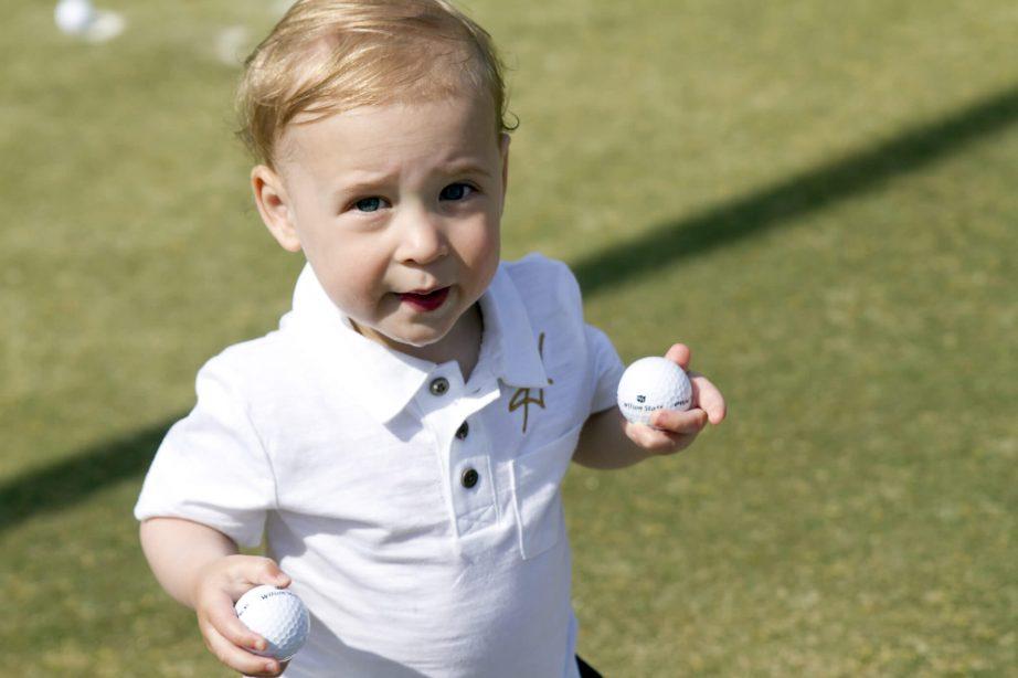 toddler kids haas family golf